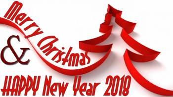 Merry Christmas and a HAPPY NEW YEAR 2018